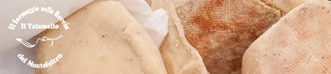 Il formaggio nella roccia Logo